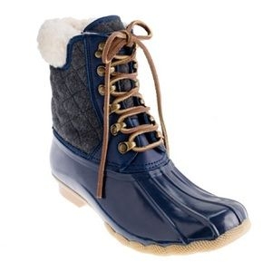 SPERRY for J CREW Top sider duck boots